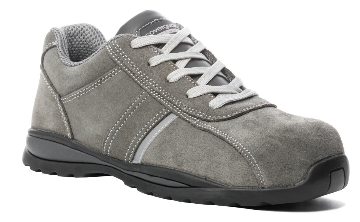 chaussures basses grises