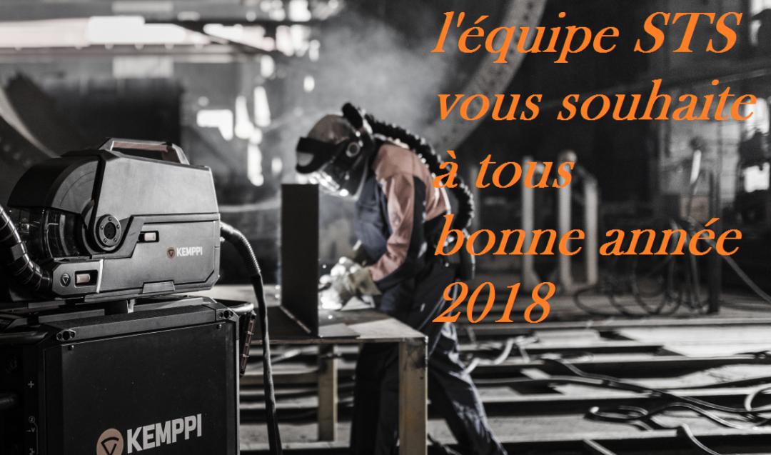 SERVICE TECHNIQUE DU SOUDAGE NOS VOEUX 2018