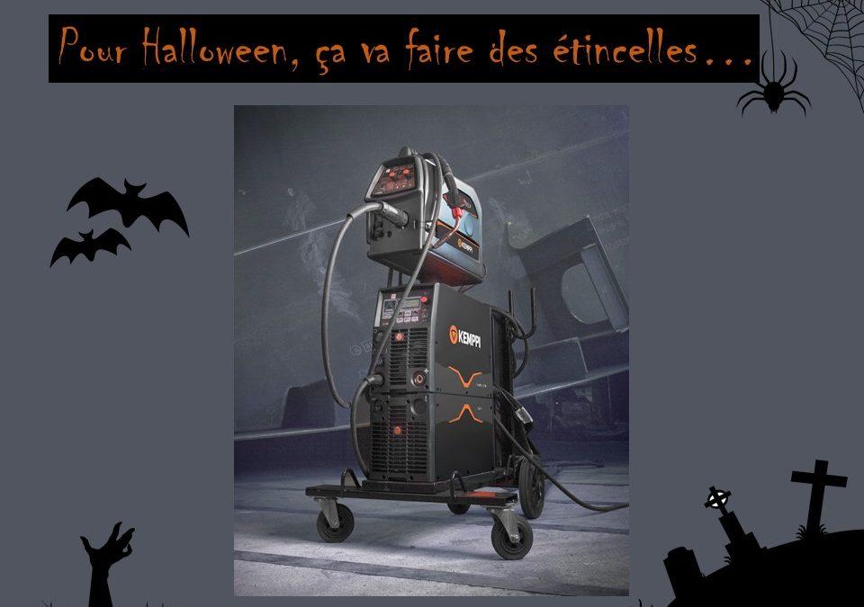 Pour Halloween, ça va faire des étincelles…