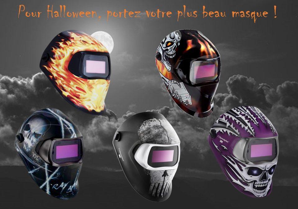 Pour Halloween, portez votre plus beau masque !